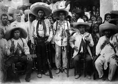 Carmen Robles. Coronela zapatista. Guerrero. 1913. SECRETARÍA DE CULTURA.INAH.SINAFO.FN.MX.