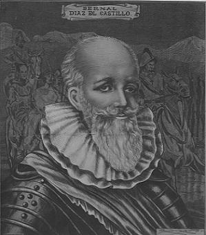 Bernal Díaz del Castillo. Foto INAH. (1)
